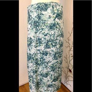 Soft Joie Maxi Short Long Floral Soft Skirt  Sz. S